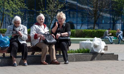 Средний размер пенсии в Минске составил 551,74 рубля